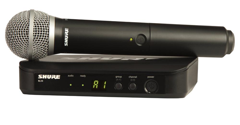 Shure Micrófono Inalámbrico Shure BLX24/PG58